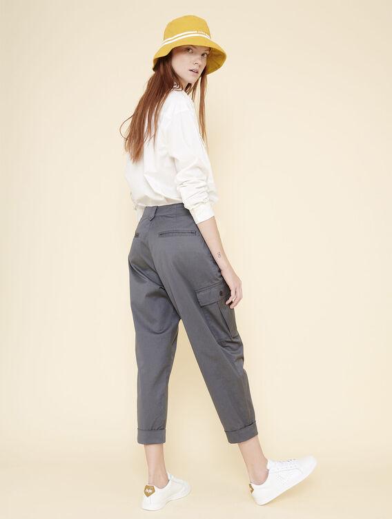 Pantalon cargo féminin