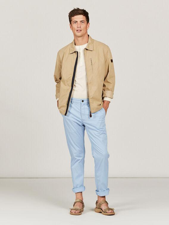 Lightweight cotton jacket