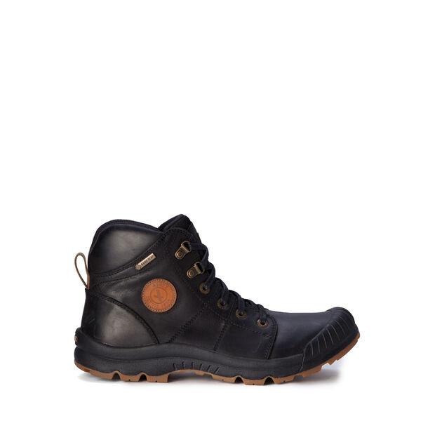 Chaussures de marche imperméables cuir homme
