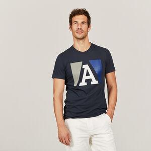 T-shirt technique d'inspiration nautique