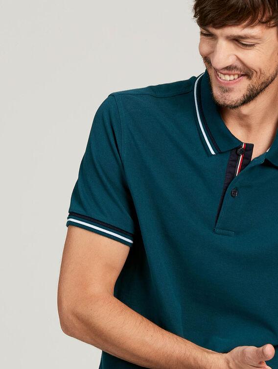 Redesigned basic polo shirt