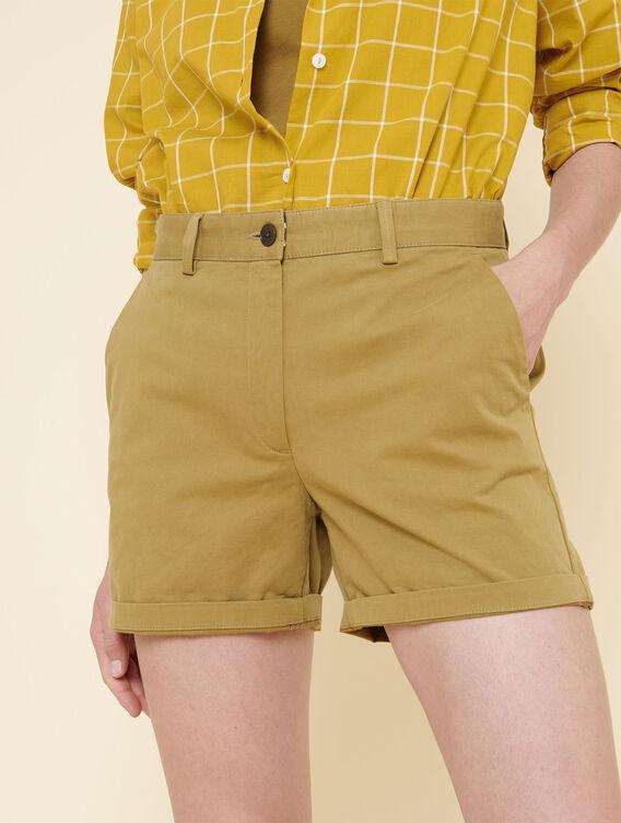 Kurze Chino-Shorts