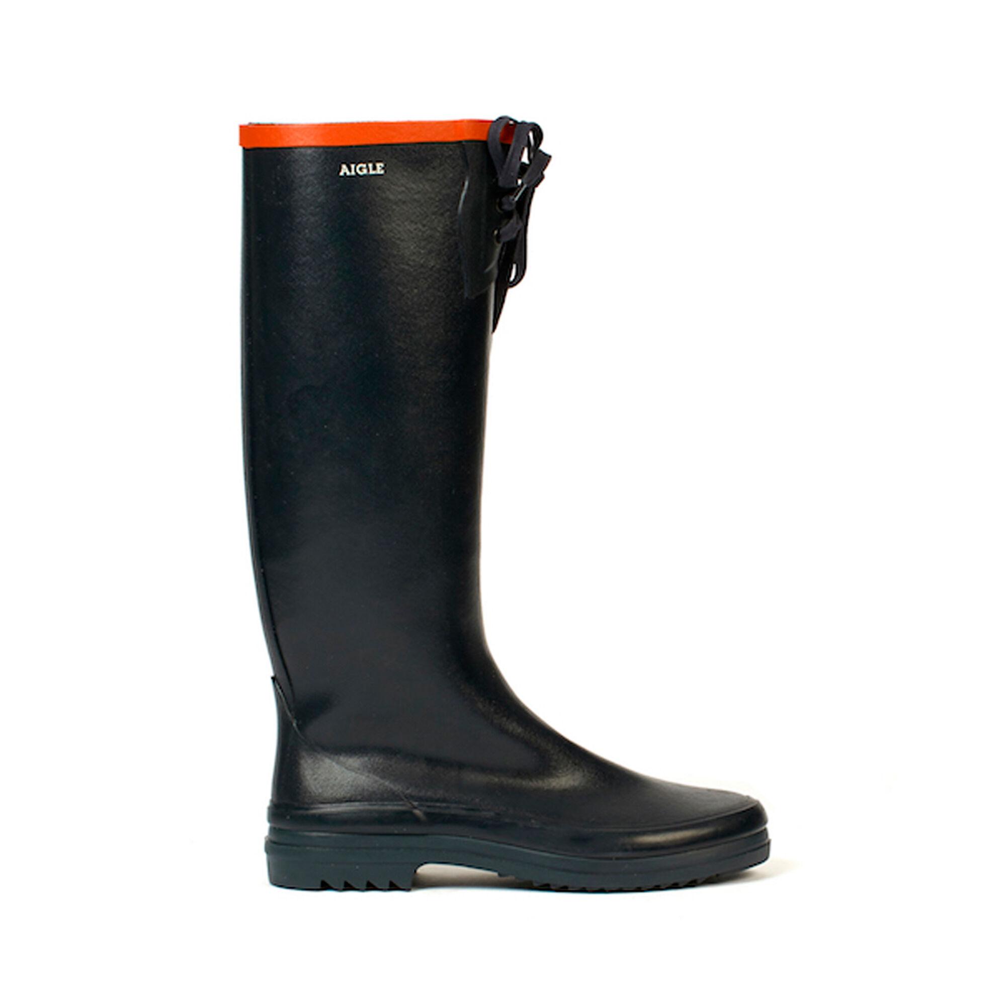 New Fashion Noir Wellington Impermᄄᆭable Bottes Bottines Bottes Casual S 4 Uk 37 UE-afficher le titre d'origine