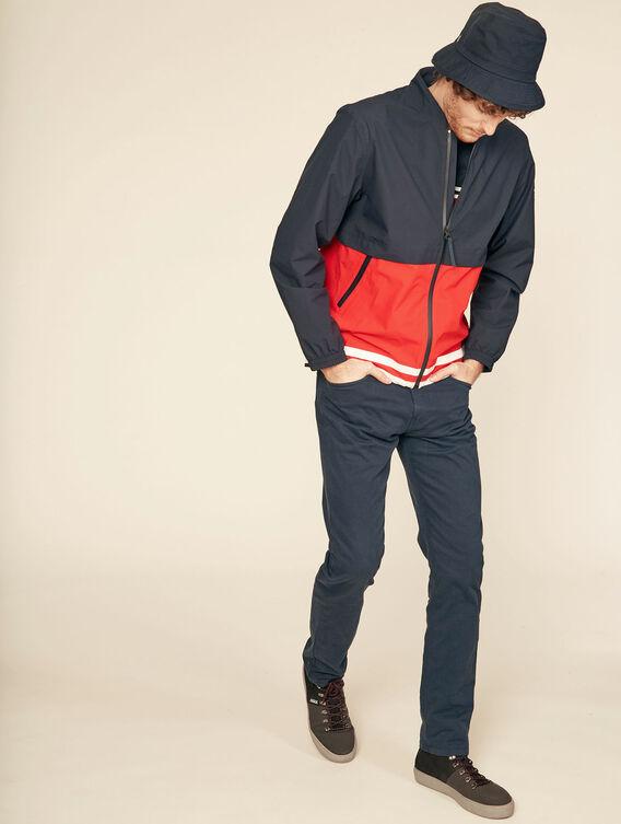 5-pocket cotton trousers