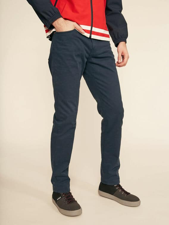 5-pocket cotton trousers