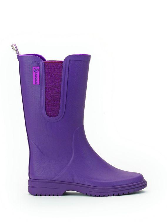 Women's fleece-lined garden boots