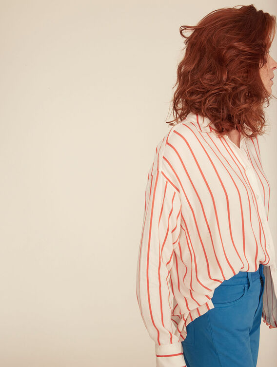 Chemise à rayures légère
