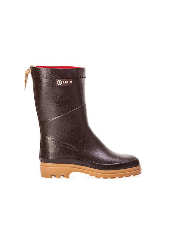 Men's warm rubber ankle boots