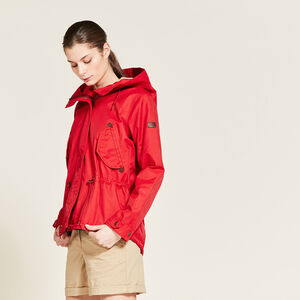 Parka fishtail courte