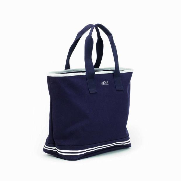 Petit sac de plage en coton pour femme