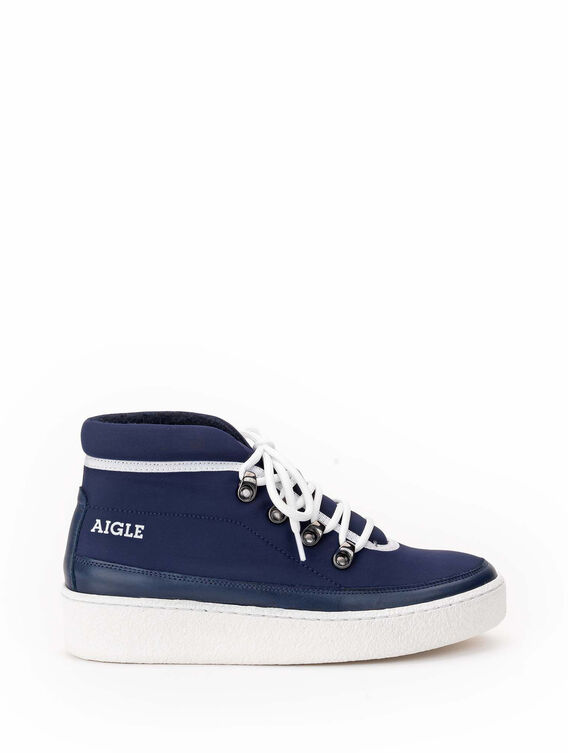 Women's warm fur-lined trainers