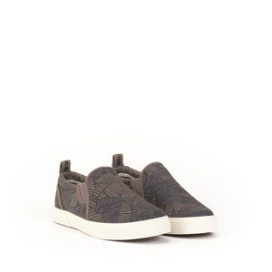 Moccassin toile homme