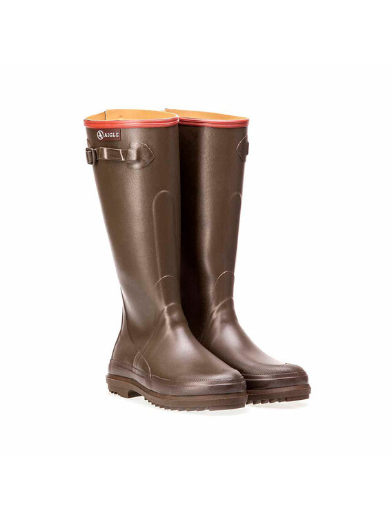 Men's rubber hunting boots