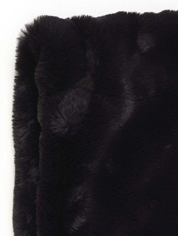 Women's faux-fur snood