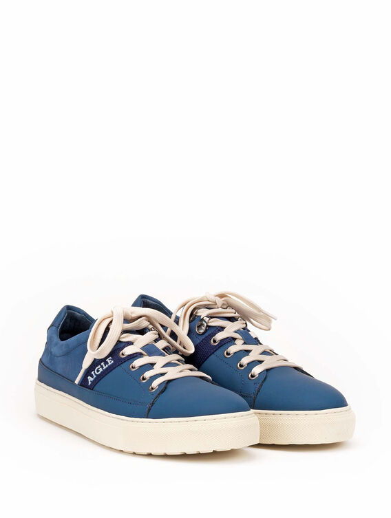 Men's leather trainers, made in Portugal