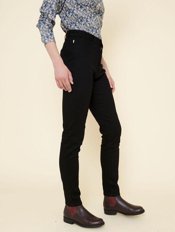 Slim-fit stretch trousers