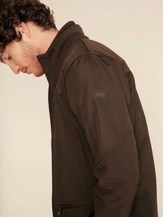 Warm hunting jacket