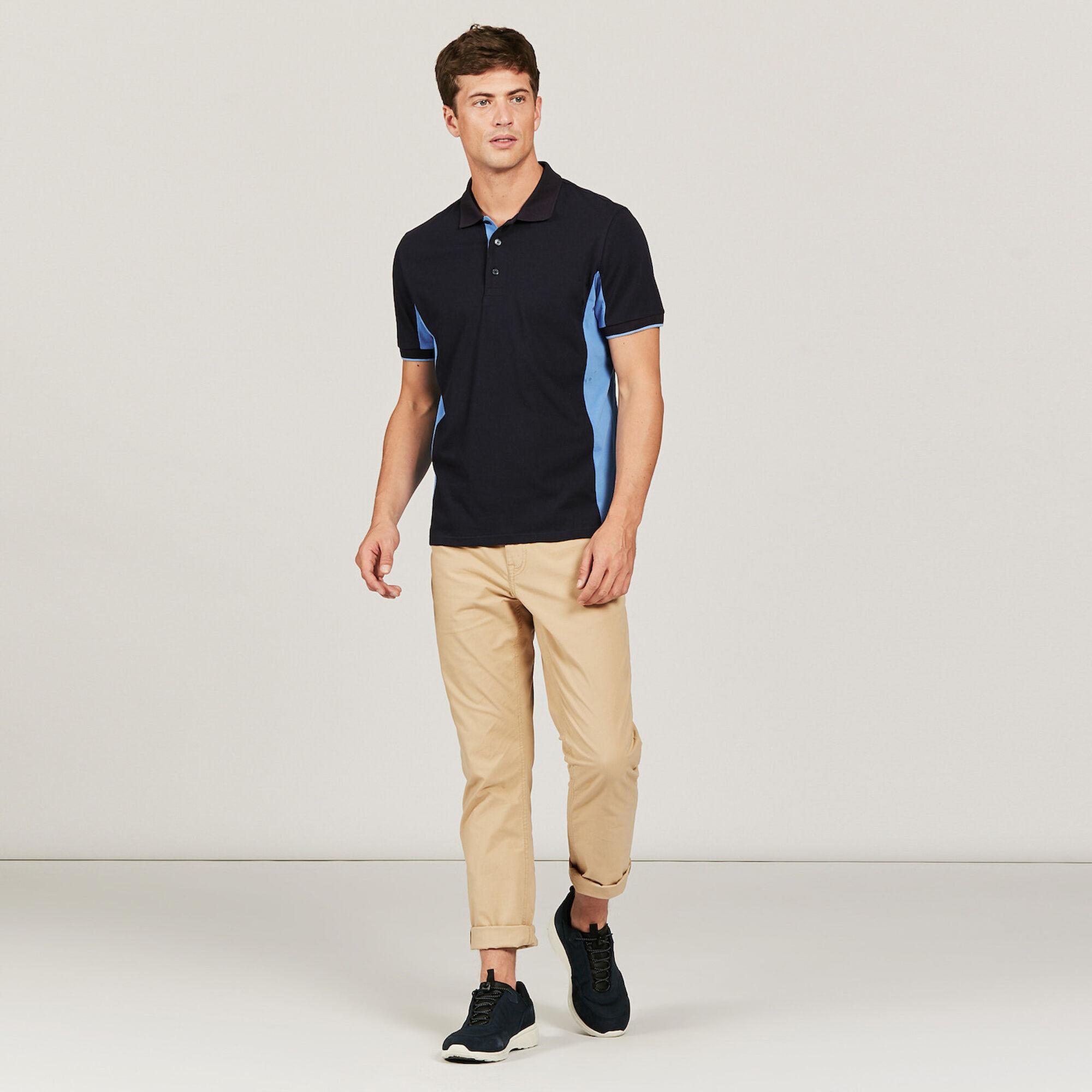 Polo avec thermo-regulation en jersey