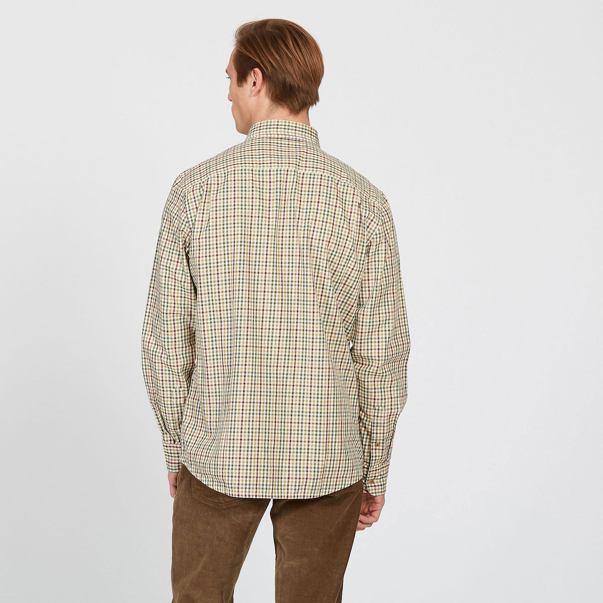 Chemise à carreaux traditionnelle