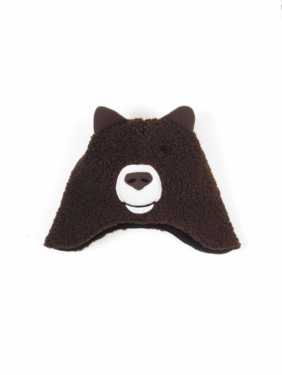 Children's cold-weather beanie