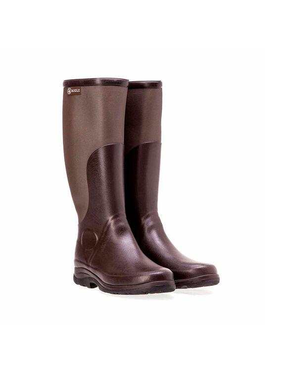 Men's rubber leisure boots