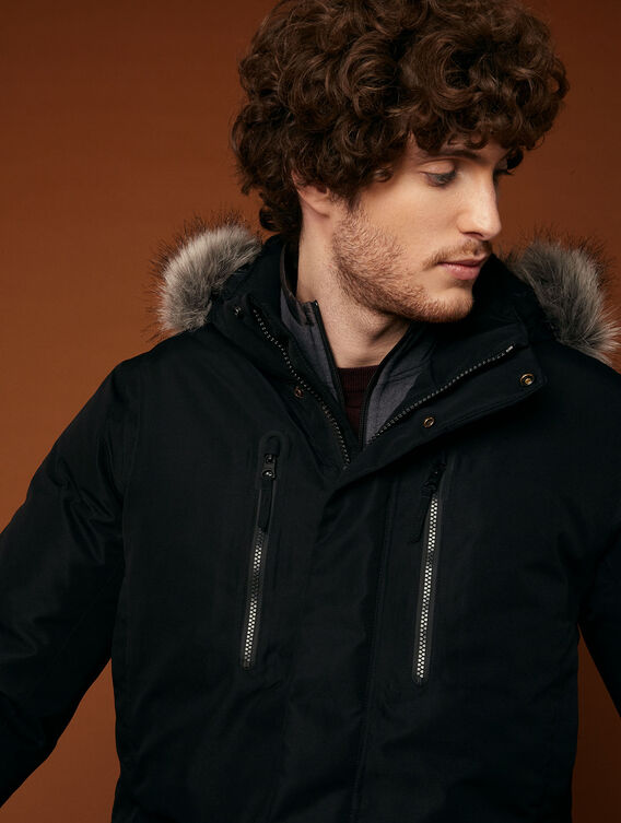 Waterproof cold-weather parka