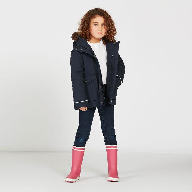 Warmer Regenparka für Mädchen