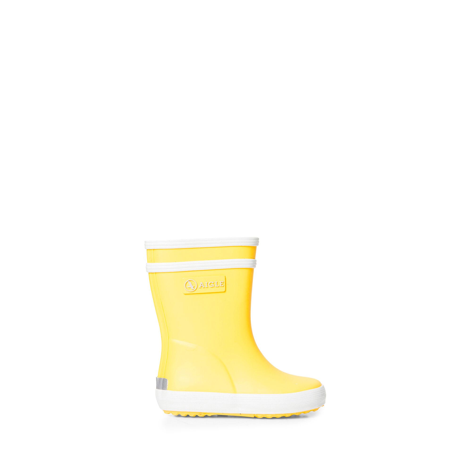Botte de pluie enfant jaune