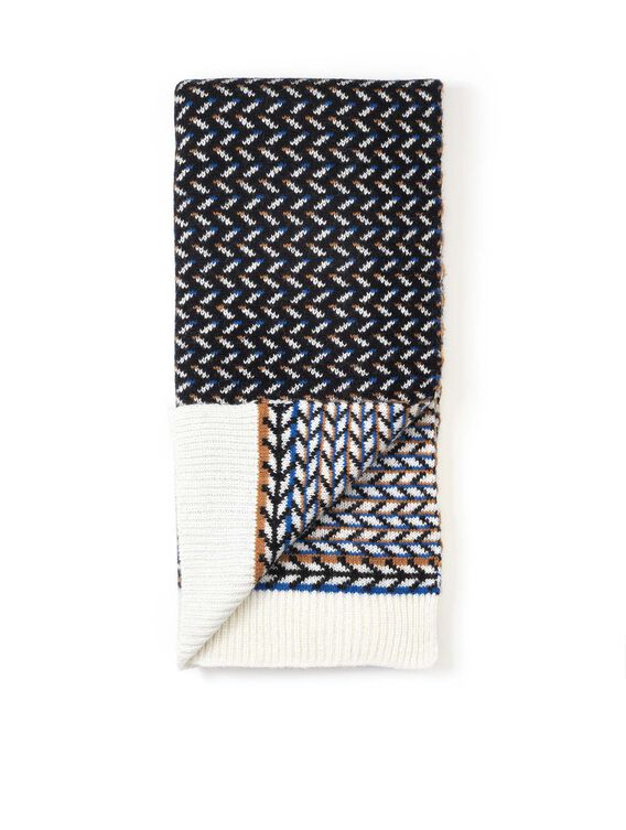 Women's redesigned polka dot scarf