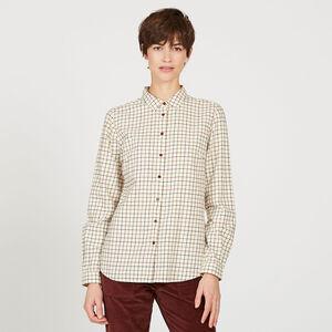 Chemise à petits carreaux
