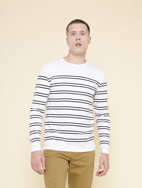 Long-sleeved sailor's top