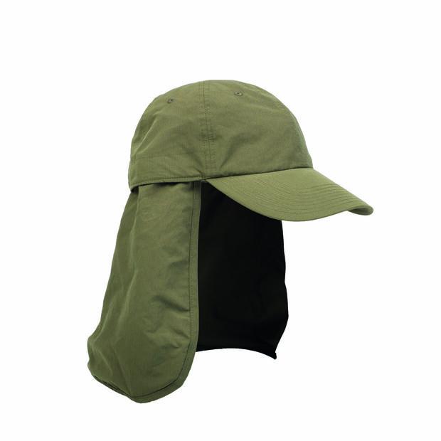 Herrenmütze mit Nacken- und UV-Schutz