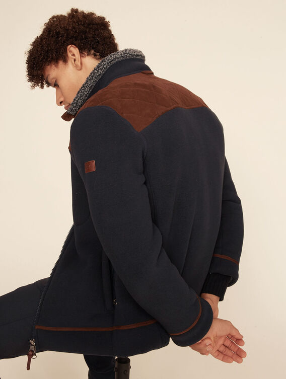 Hunting-inspired fleece