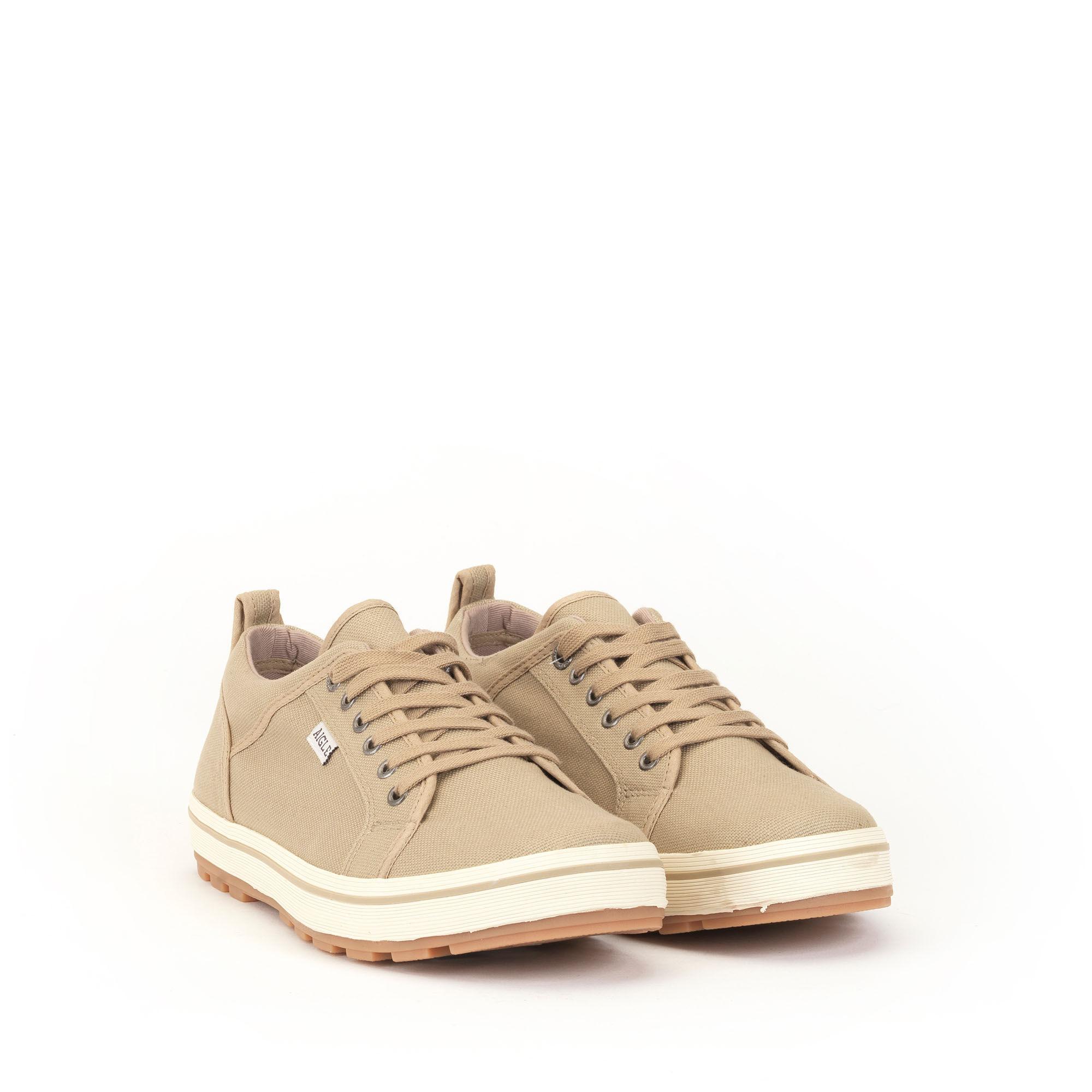 Chaussure basse en toile confortable homme