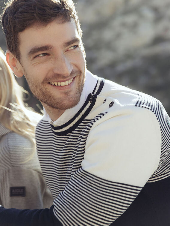 Striped sailor's jumper
