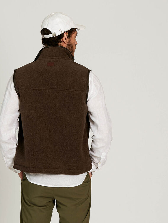 Polartec®-Weste mit Sherpa-Fleece