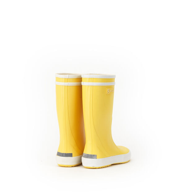 Botte de pluie enfant jaune/blanc