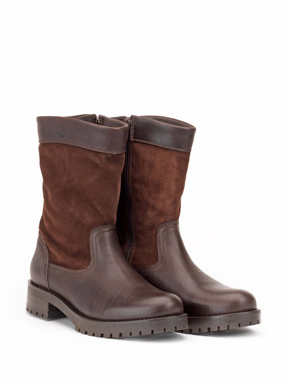 Women's leather boots, made in Portugal