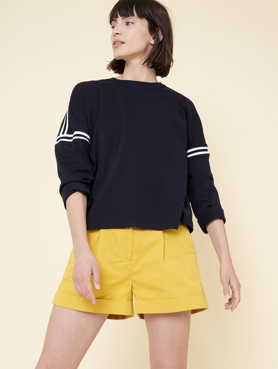 Oversized 3/4 sleeve T-shirt