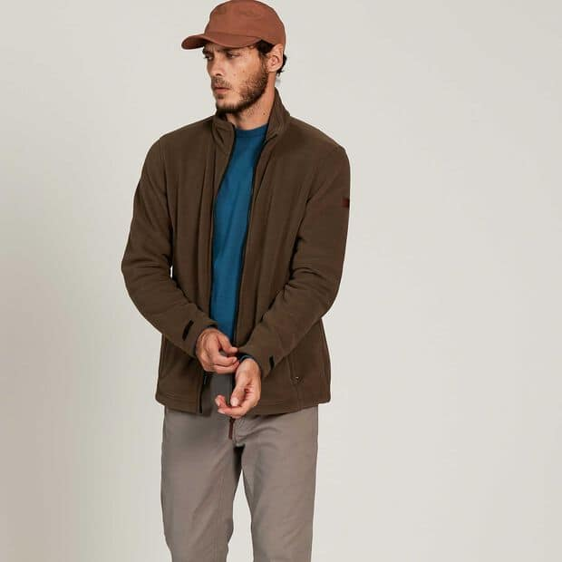 Modulierbarer Fleece-Blouson