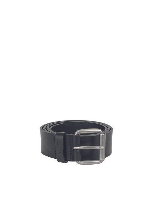 Men's leather belt