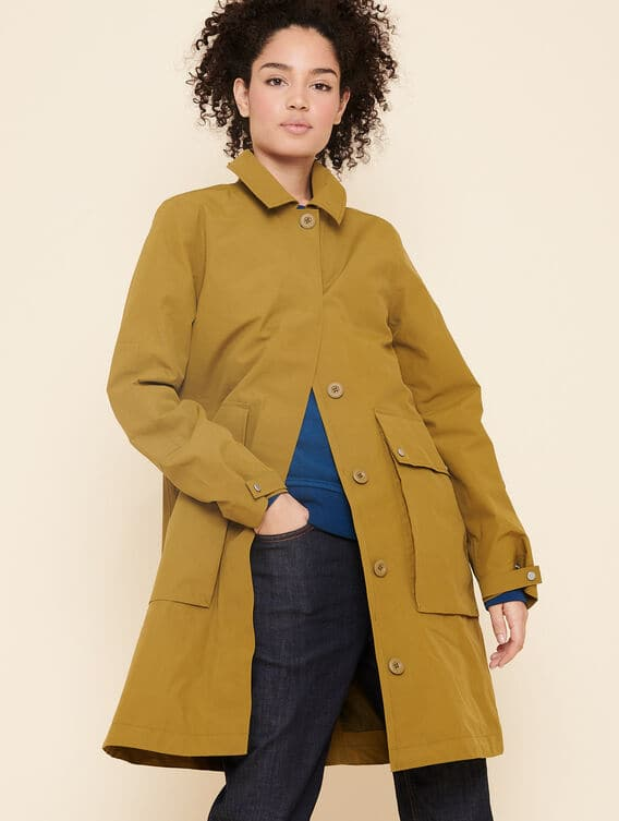 Gore-Tex trench coat