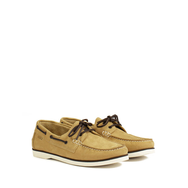 Men's flexible boat shoes