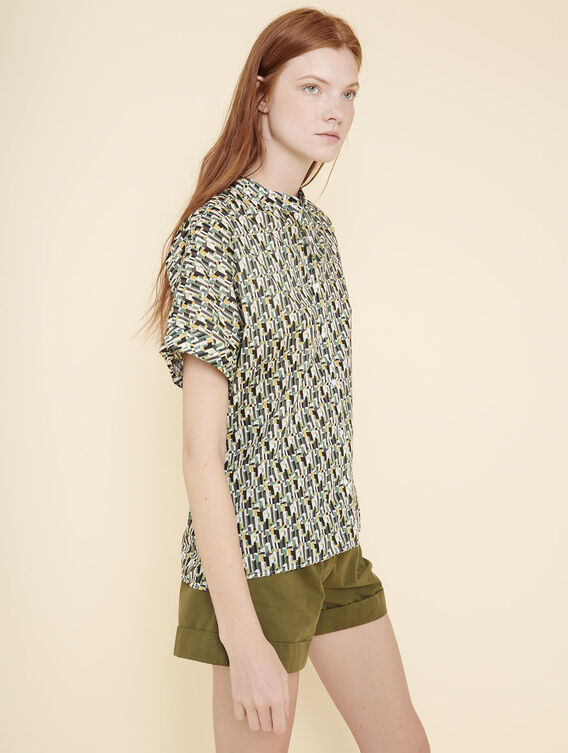 Liberty® short-sleeved blouse