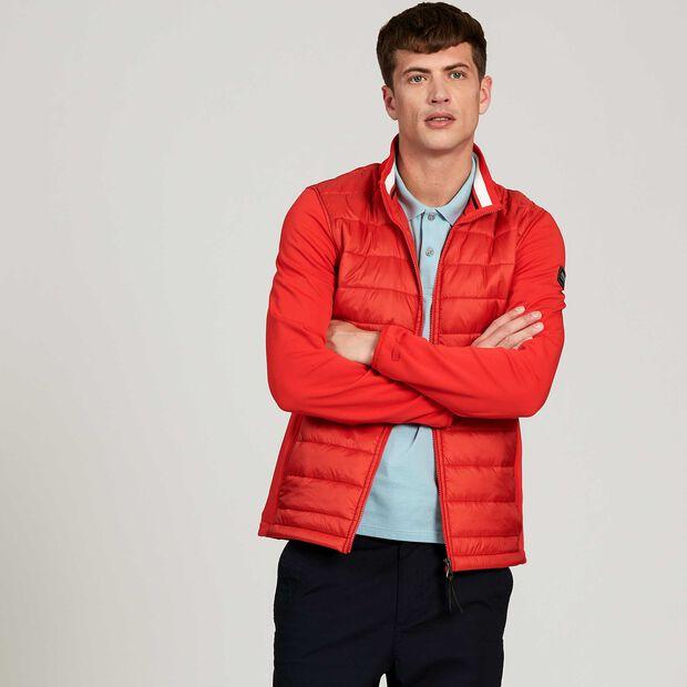 Water-repellent fleece jacket