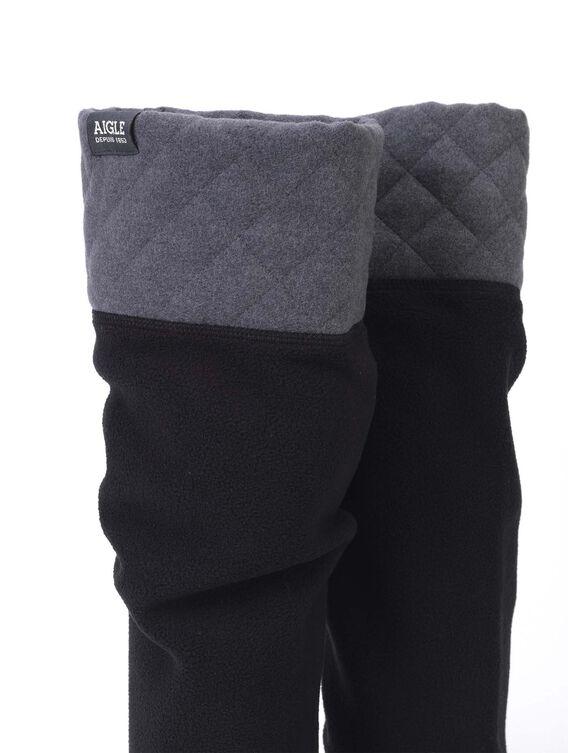 Chaussette polaire pour bottes femme