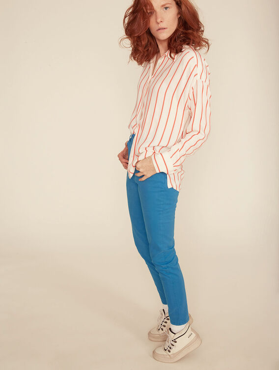 Lightweight stripe shirt