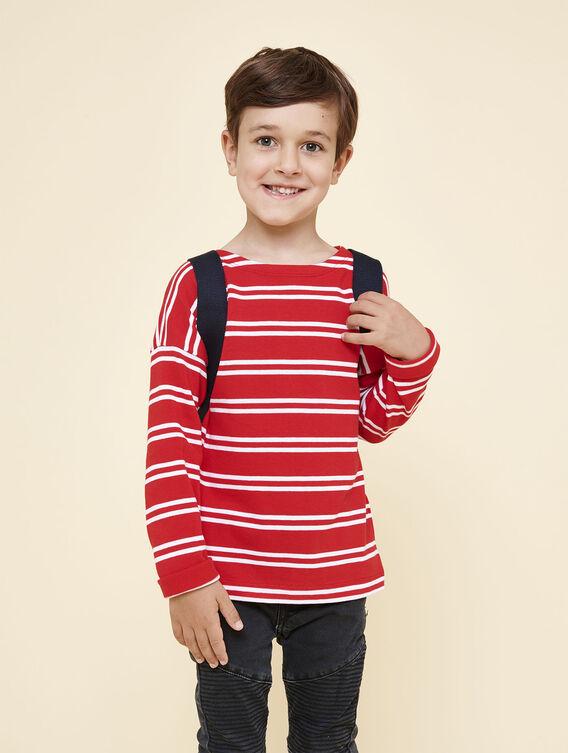 Children's cotton sailor's top
