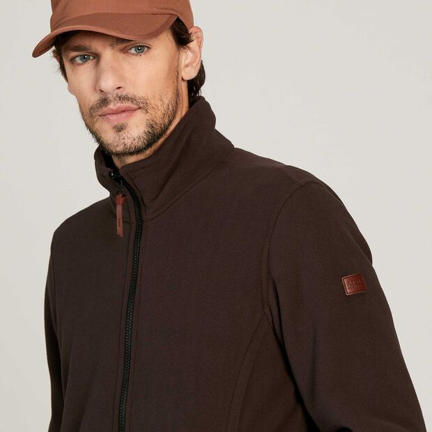 Versatile fleece jacket