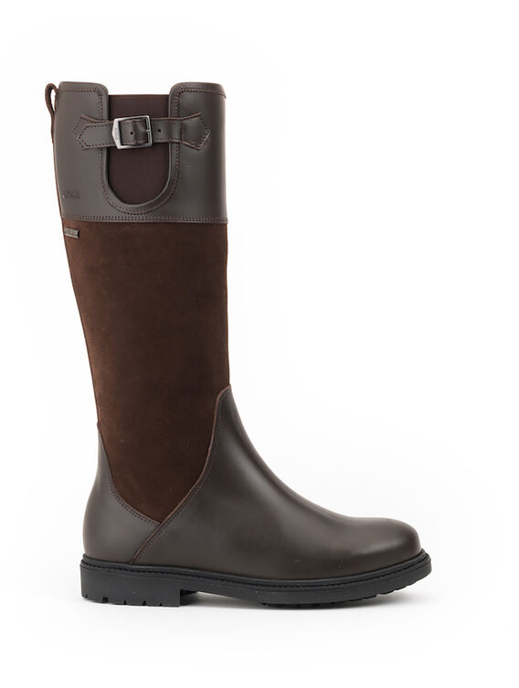Women's waterproof leather hunting boots